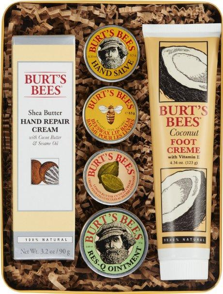 $21.25 Burts Bees Classics Gift Set, 6 Products in Giftable Tin
