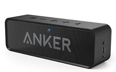 Anker SoundCore Bluetooth Speaker with Built-in Mic - Black