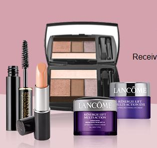 Free 5 Deluxe Samples with $49 or More Purchase @ Lancome