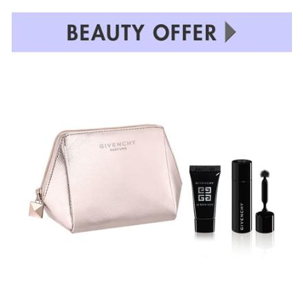 3 PC GWP with any $125 Givenchy Beauty purchase @ Neiman Marcus