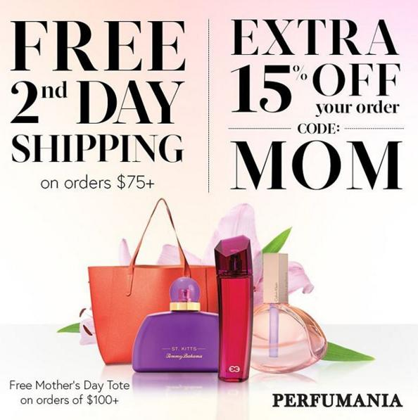 Extra 15% off your entire order @Perfumania