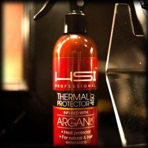 HSI PROFESSIONAL Thermal Protector 450 with Argan oil for Flat Iron