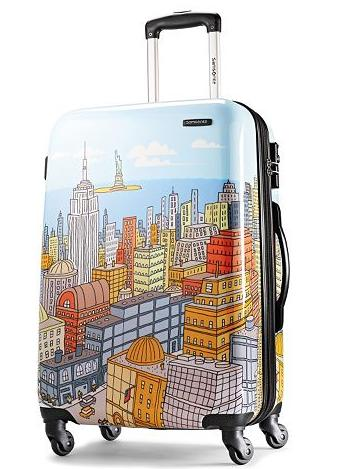 $136.03 Samsonite Luggage NYC Cityscapes Spinner 28