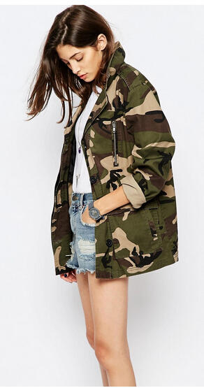From $9 Camo Print Apparel @ ASOS