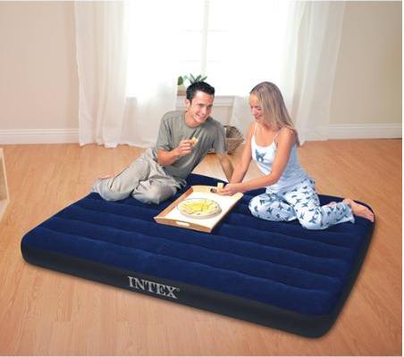 $6.93 Intex Classic Downy Airbed, Full