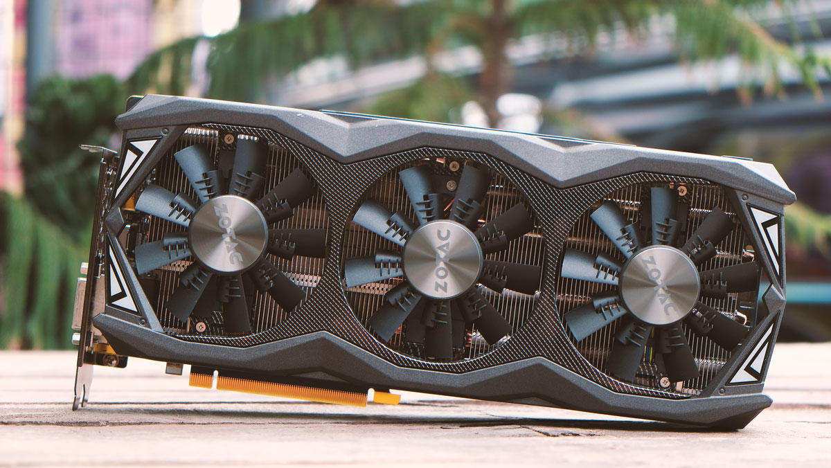 ZOTAC GeForce GTX 980 Ti 6GB AMP! Omega Video Card