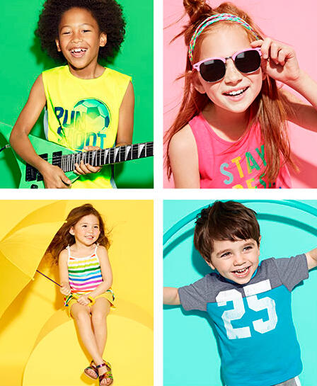 50% Off + FS Sitewide @ Children's Place