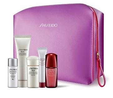Get 6-Pc. Gift with Purchase of 2 or More Shiseido Skincare Items @ Bloomingdales