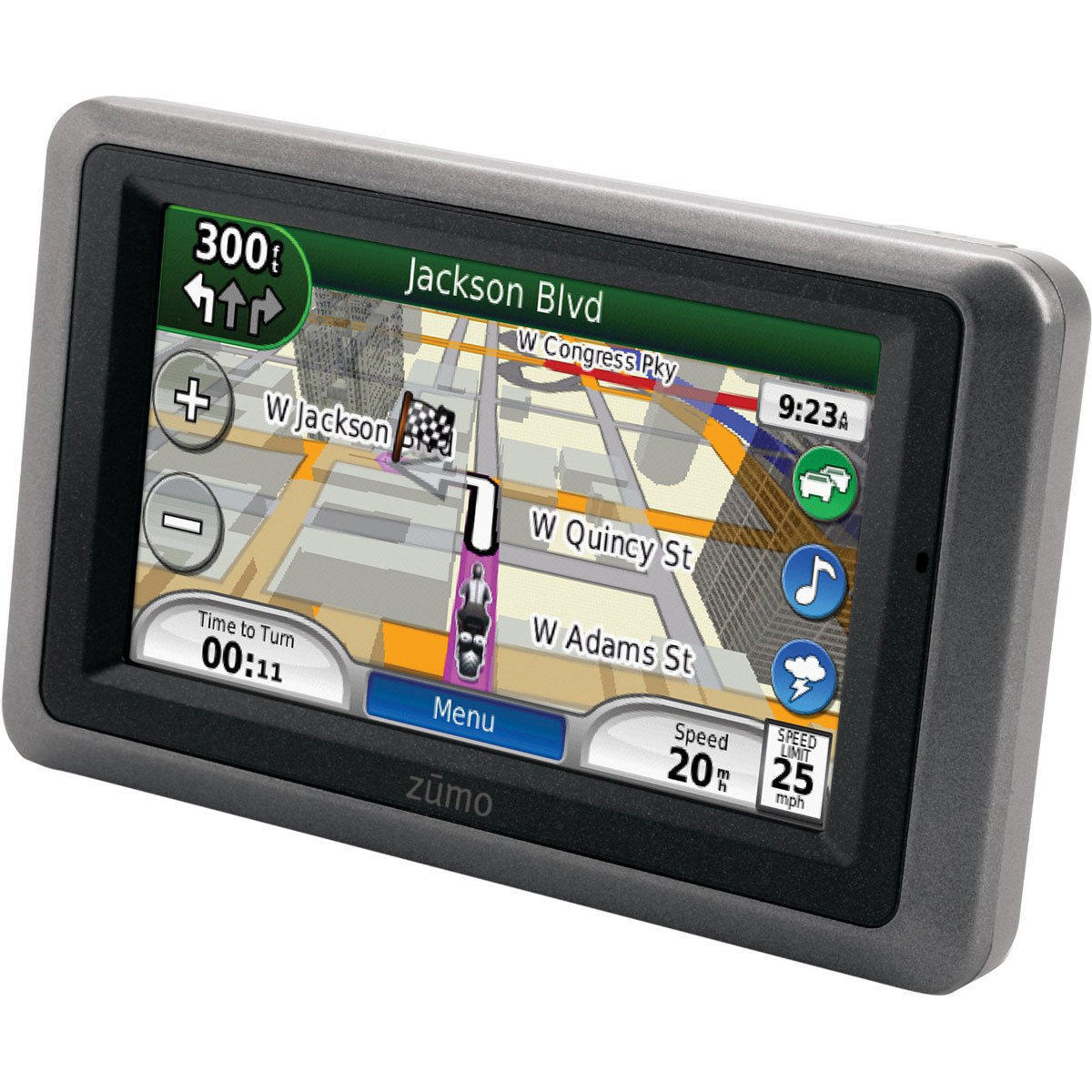 Garmin Zumo 665LM GPS Motorcycle Navigator with XM Receiver