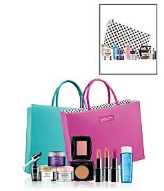 Receive a FREE 6-Pc. gift with any $35 Lancôme purchase  @ macys.com