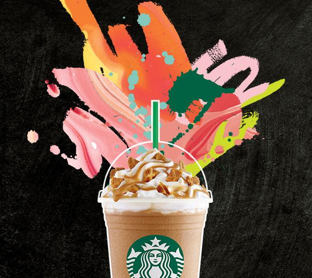 $3 Any Frappuccino blended beverage Purchase @ Starbucks
