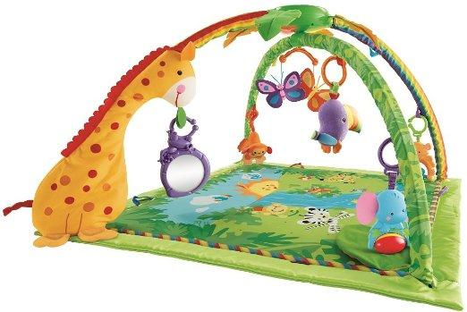 $43.86 Fisher-Price Rainforest Melodies and Lights Deluxe Gym