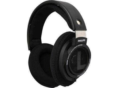 Philips HiFi Stereo Headphones SHP9500 Over-ear Black