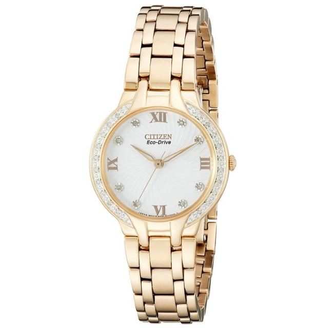 Lowest price! $218.15 Citizen Women's Eco-Drive Bella Diamond Accented Watch
