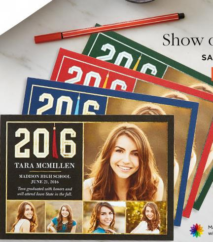 40% Off Graduation Cards @Shutterfly