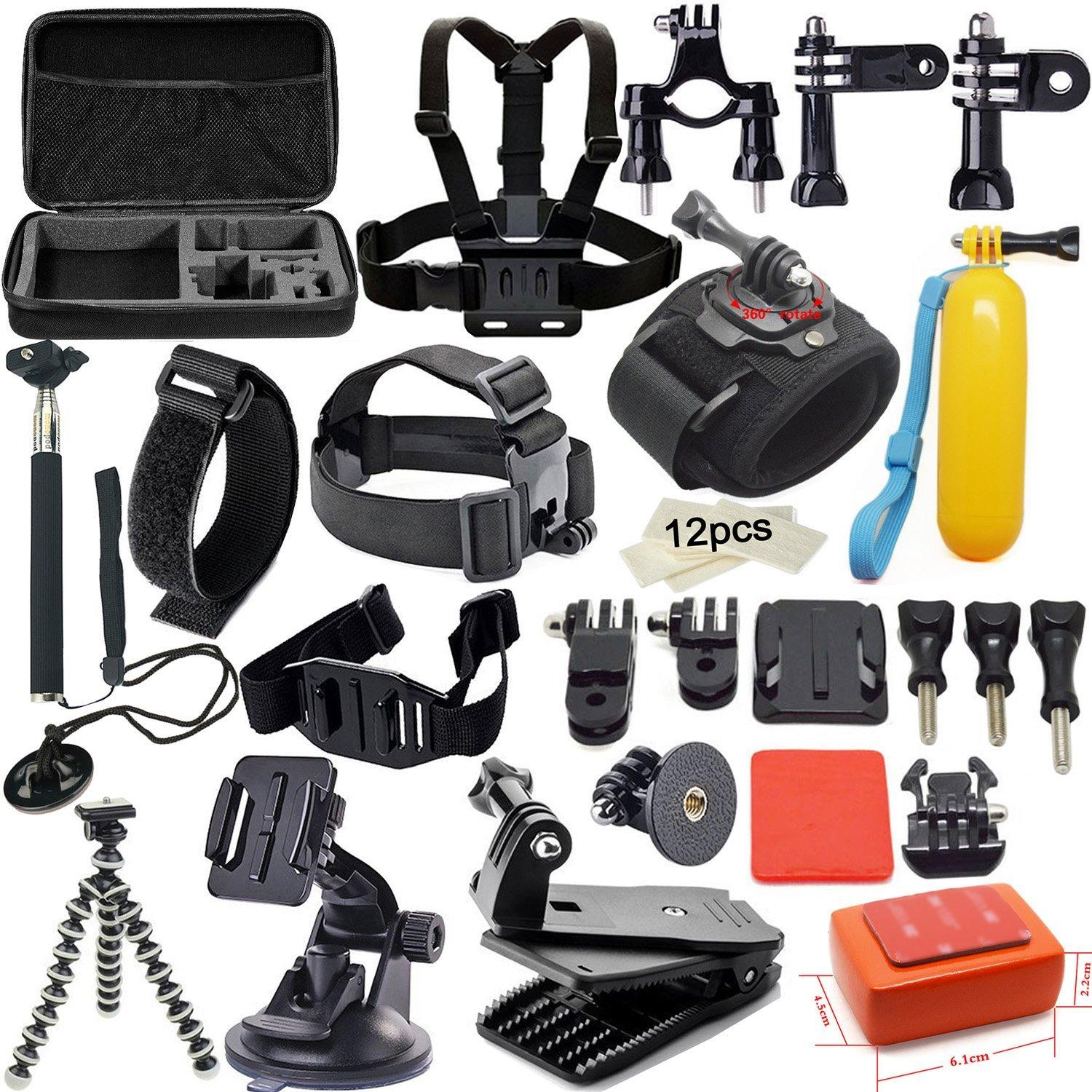 $29.99 Soft Digits 42 in 1 Accessory kit Accessories for Gopro Hero4