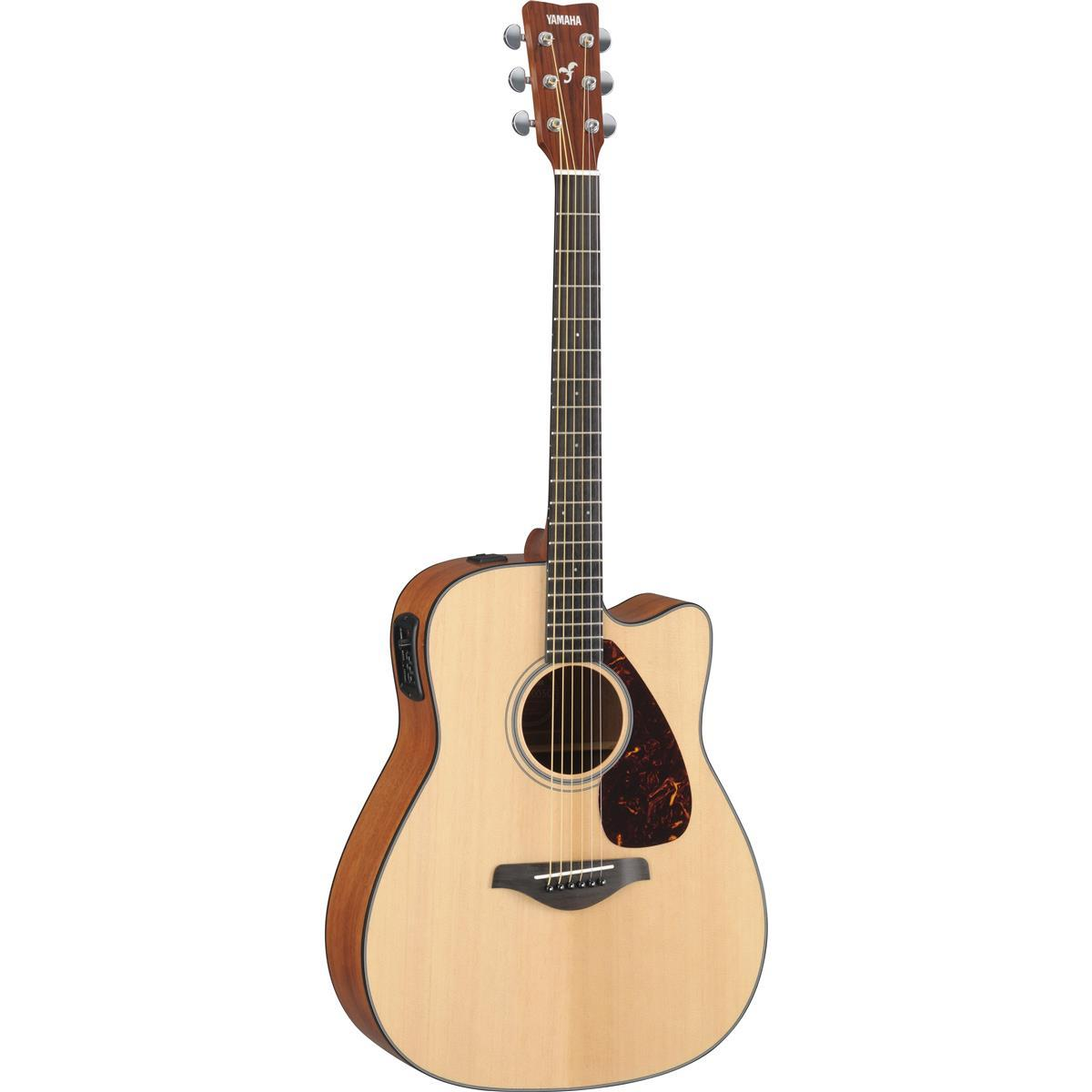 Yamaha FGX700SC 6 String Solid Top Cutaway Acoustic-Electric Guitar