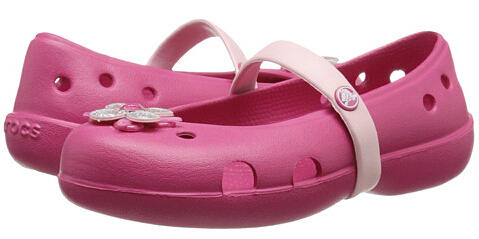 Crocs Kids Keeley Springtime Flat PS (Toddler/Little Kid)