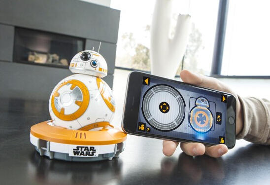 BB-8 App-Enabled Droid and Bluetooth Speaker