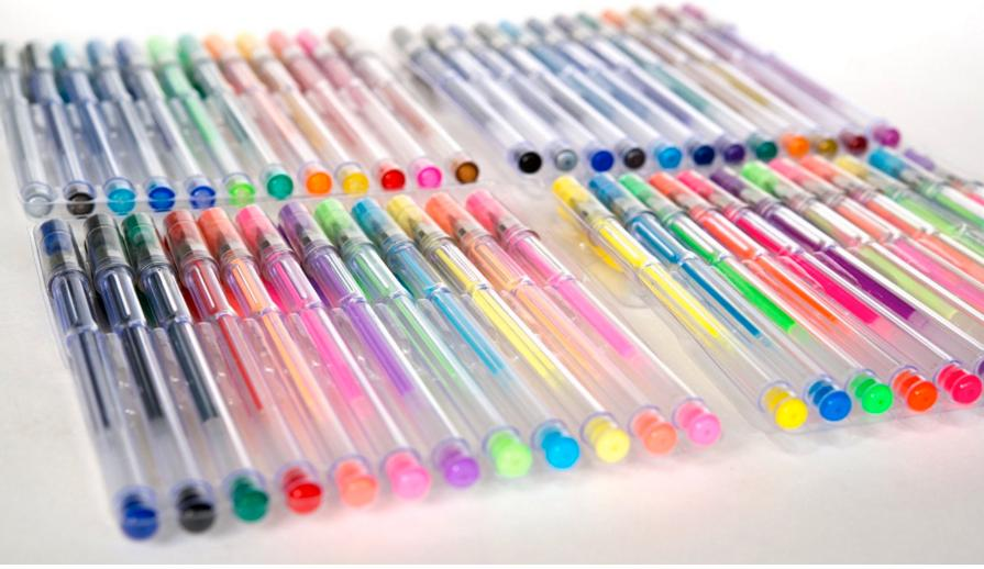 $19.99 LolliZ Gel Pens | 96 Gel Pen Set - 2 Packs of 48 pens each.