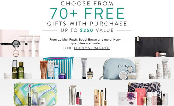 70+ Beauty Gifts with Purchase From Fresh, Bobbi Brown & more @ Nordstrom