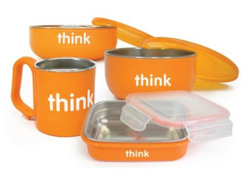 thinkbaby The Complete BPA Free Feeding Set, Pink @ Amazon