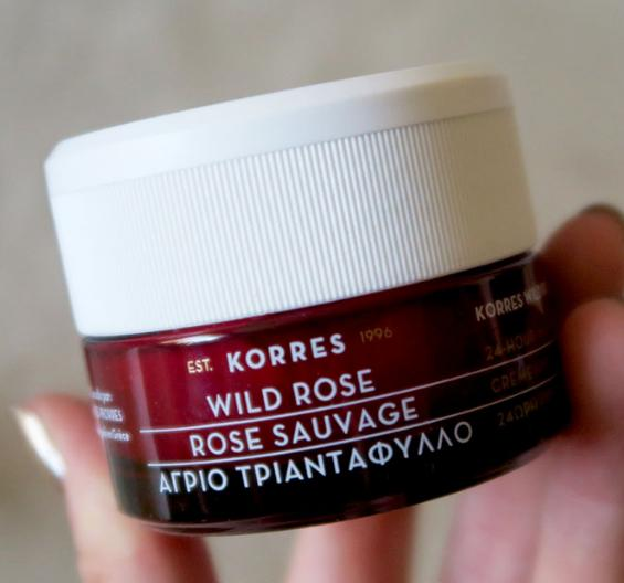 Korres Advanced Brightening Sleeping Facial, Wild Rose, 1.35 fl. oz. @ Amazon