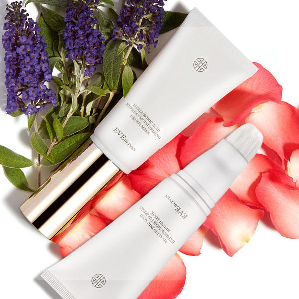 $58 Only (Value $158)! 99% Natural Discover the HYALURONIC ACID EXPRESS MOISTURIZING BRUSH MASK @ Eve By Eves