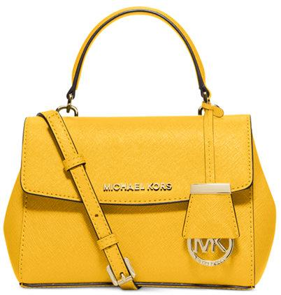 $106.4 MICHAEL Michael Kors Ava Mini Crossbody Sale @ Macys.com