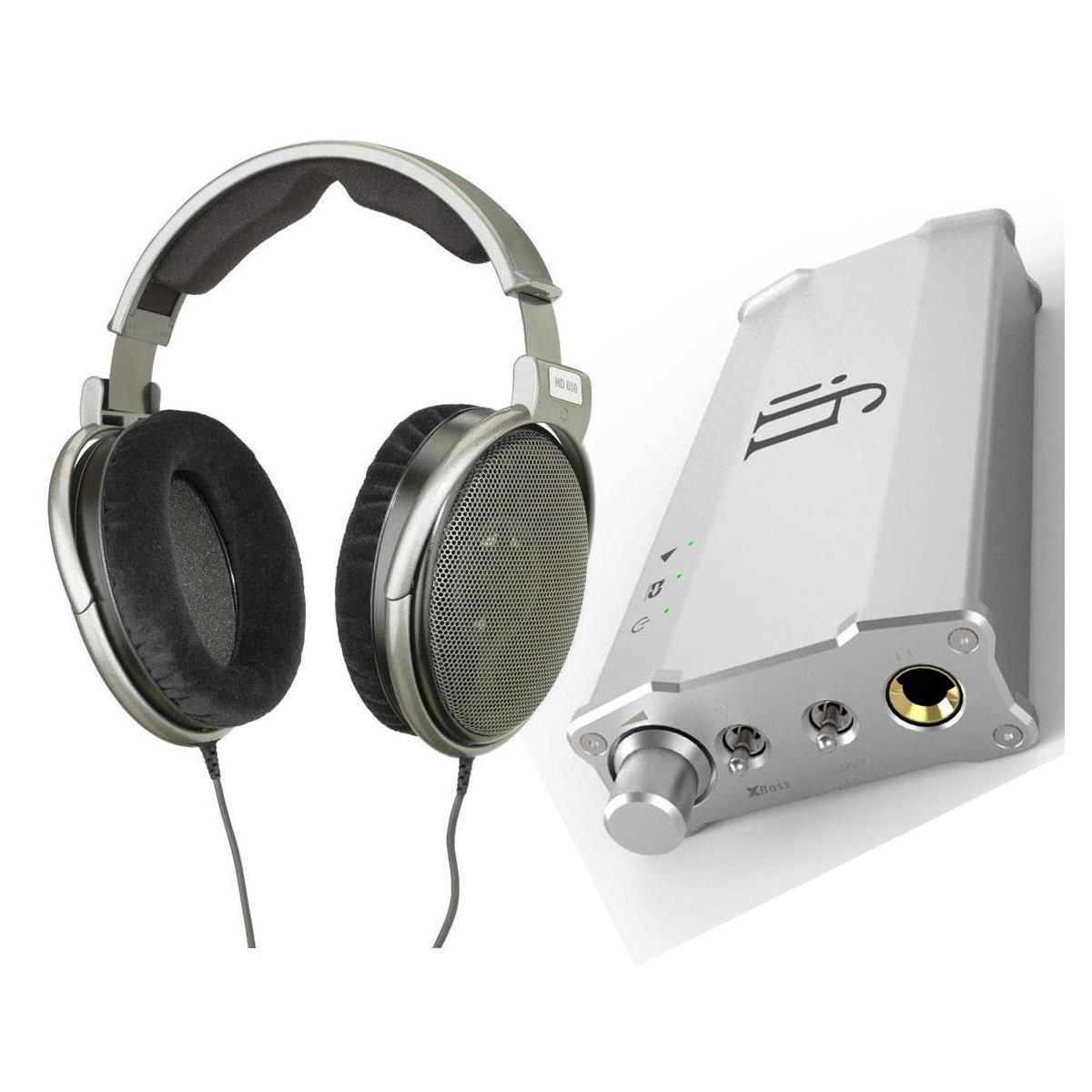 Sennheiser HD650 w/ iFi Micro iCAN SE Headphone Amp