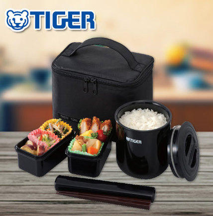 Tiger LWY-E046 Thermal Lunch Box, Black @ Amazon