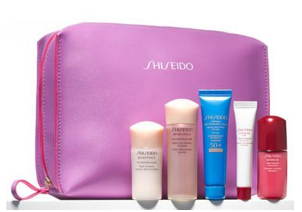 Free 6-Piece Gift with Your Purchase of Any Two Shiseido Skincare Items @ Nordstrom