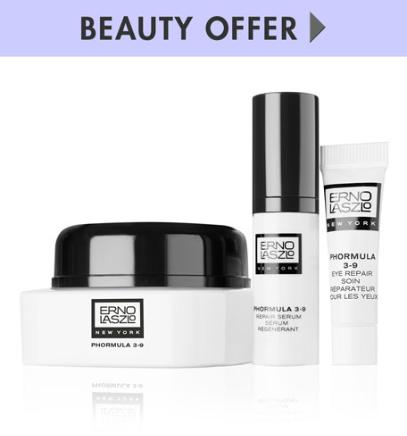 A $128 value complimentary gift +Free Tote with Fragrance Samples with Your Erno Laszlo Purchase over $125 @ Neiman Marcus