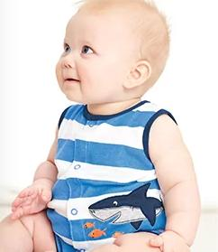 From $6 Baby One-Pieces Sale @ Carter's