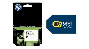 Free $10 Gift Card With Qualifying $59 or More HP Ink Purchase @ Best Buy