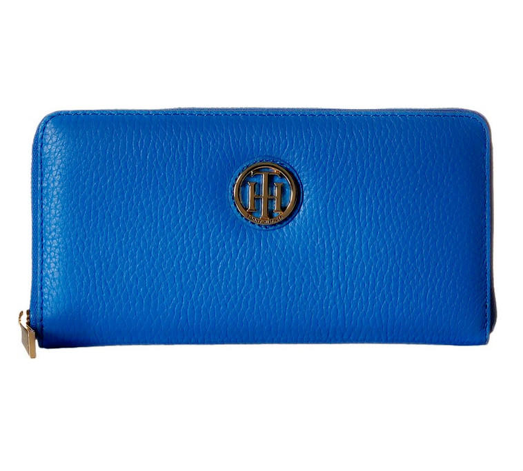 Lowest price! $35.99 Tommy Hilfiger Lucky Charm Pebble Zip Wallet