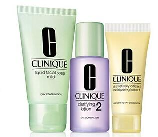 Buy 1, try 2 Free with Clinique's 3-Step System purchase @ Bon-Ton