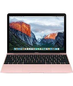 $1199 New Apple MacBook MMGL2LL/A 12-Inch Laptop with Retina Display Rose Gold, 256 GB)