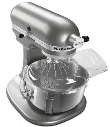 KitchenAid PRO 500 Series 5-Quart Lift Style Stand Mixer All Metal (SILVER)