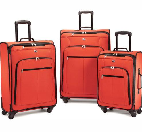 $99.99 American Tourister Pop Plus 3 Piece Luggage Set