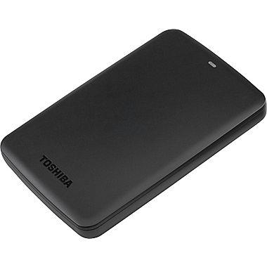 Toshiba Canvio Basics 3TB Hard Drive, Black