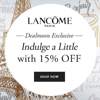 Today only! 15% Off With $49+ Purchase @ Lancome