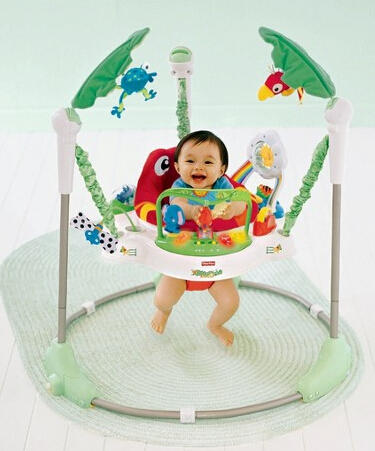 $61.19 Fisher-Price Jumperoo - Rainforest Friends