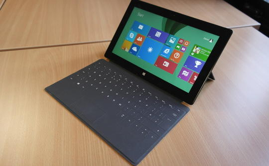 $394 Microsoft Surface Pro 2 w/ Touchcover (i5 4300U, 8G, 512GB) Refurbished