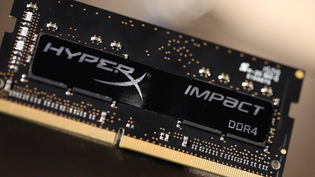 HyperX Impact 16GB (2 x 8G) DDR4 2400 SO-DIMM Laptop Memory
