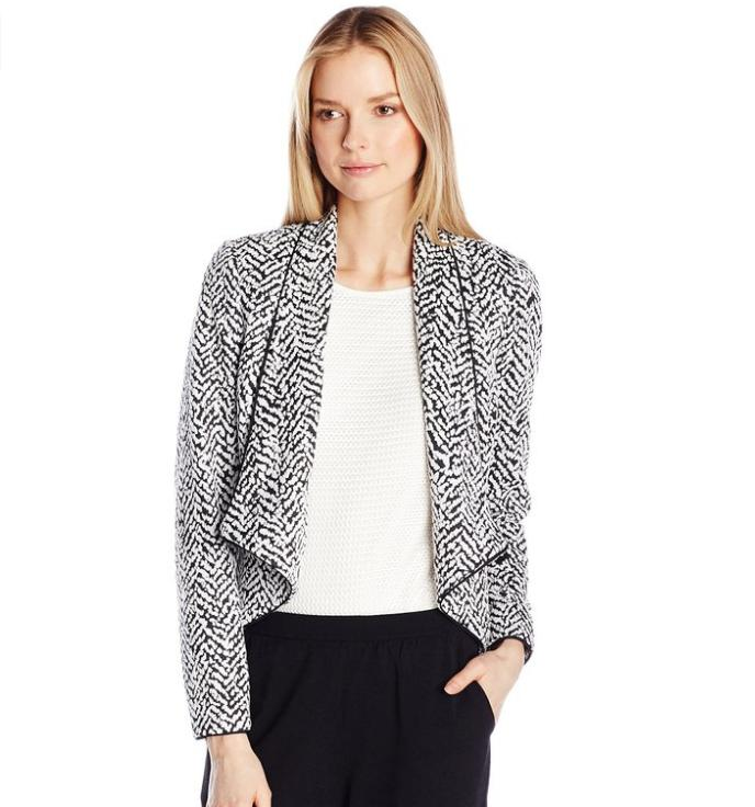 Lowest price! $40.46 Calvin Klein Women's Jacquard Jacket