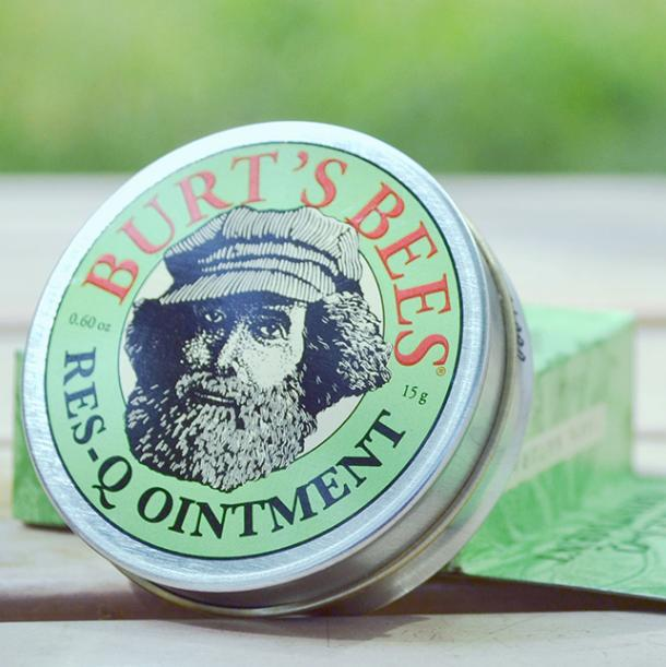 $12.4  #1 Best seller! Burt's Bees 100% Natural Res-Q Ointment, 0.6 Ounces(Pack of 3)