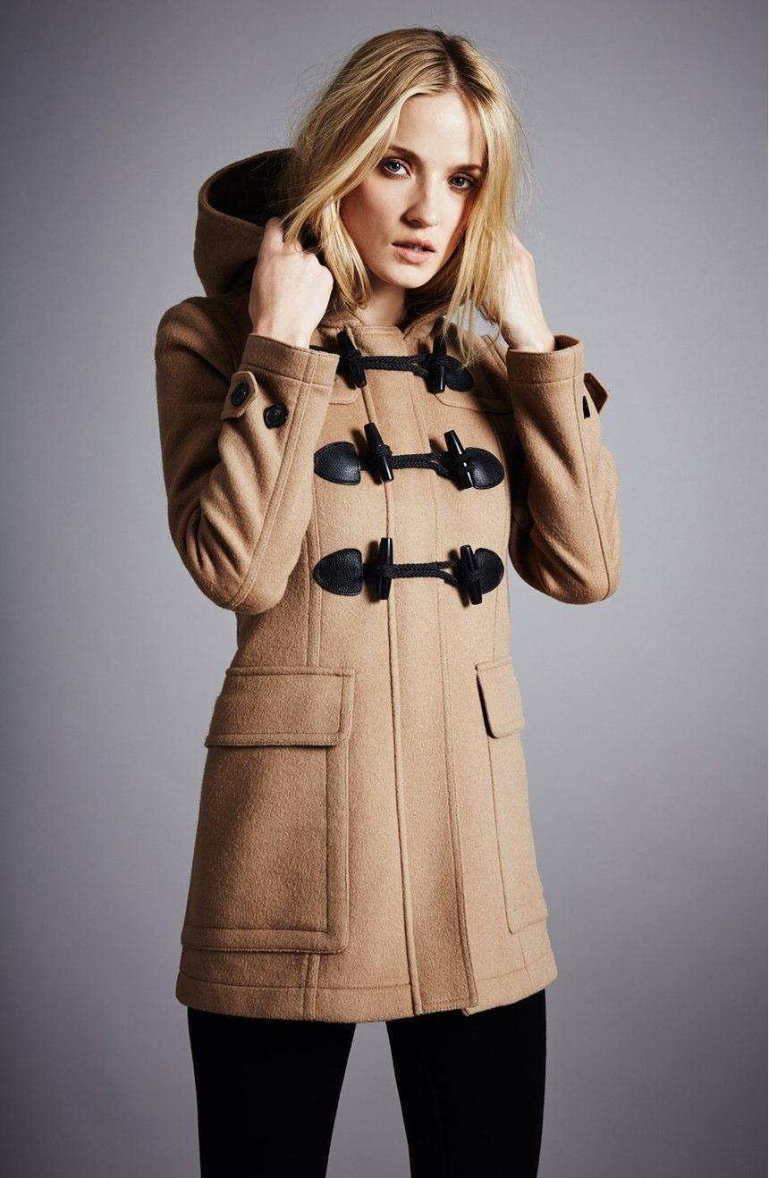 Burberry Brit Blackwell Duffle Coat @ Saks Fifth Avenue