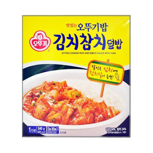 BOGO Free + Extra 10% Off OTTOGI Cooked Rice and Kimchi Sauce with Tuna 340g