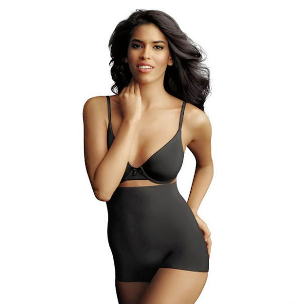 $12.81 Maidenform Sleek Smoothers Hi-Waist Boyshort Shapewear